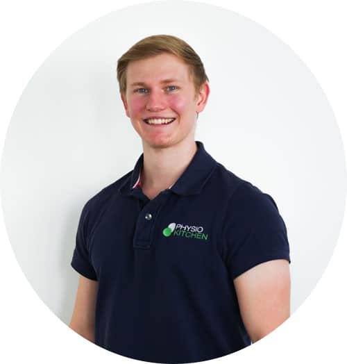 Physiotherapeut Dustin Busch